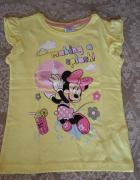 Koszulka bluzeczka 128 cm Minnie Mouse Disney nowa...