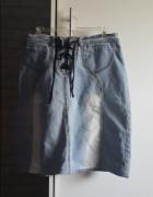 dzinsowa spodnica 27...