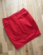 H&M spódnica czerowona elegancka S...