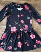 Sukienka w kwiaty miLADY nowa...