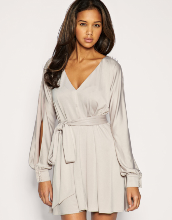 Suknie i sukienki Rozkloszowana sukienka ASOS