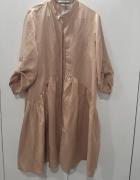 Łososiowa sukienka 42 nowa metkami