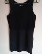 Sukienka mała czarna bez rękawów...