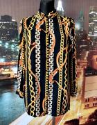 primark koszula mgiełka łańcuszki modny wzór nowa hit 38 M...