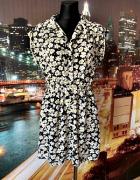 ravi famous sukienka ala pensjonarka kwiaty floral nowa 40 L...