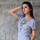 Bawełniana bluzka kimonko NOWA M Medicine