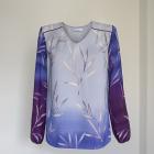 śliczna cieniowana bluzka lila Mohito nowa 36
