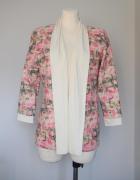 Kardigan sweterek w róże śliczny ORSAY 36...
