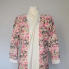 Kardigan sweterek w róże śliczny ORSAY 36