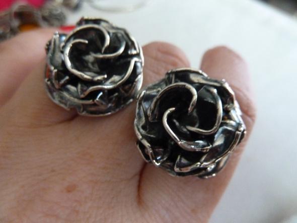 kolczyki róże Rytosztuka...