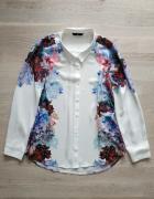Koszula H&M 36 S kwiaty floral...