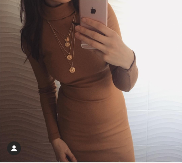 Suknie i sukienki Ruda sukienka