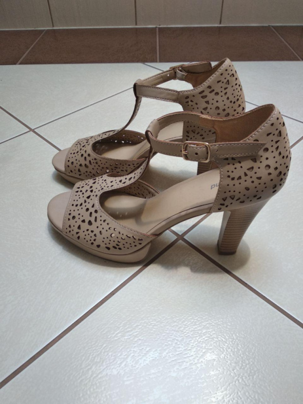 Sandały sandałki platforma obcas 255cm rozmiar 40