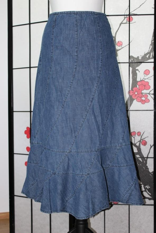 Spódnice spódnica długa midi jeansowa dżins maxi boho