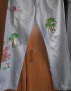 Niepowtarzalne jeansy Dolce&Gabbana