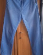 Stylowe niebieskie spodnie Diverse rozmiar L