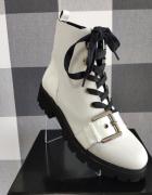 Steve Madden Vixie Leather Biker Boot