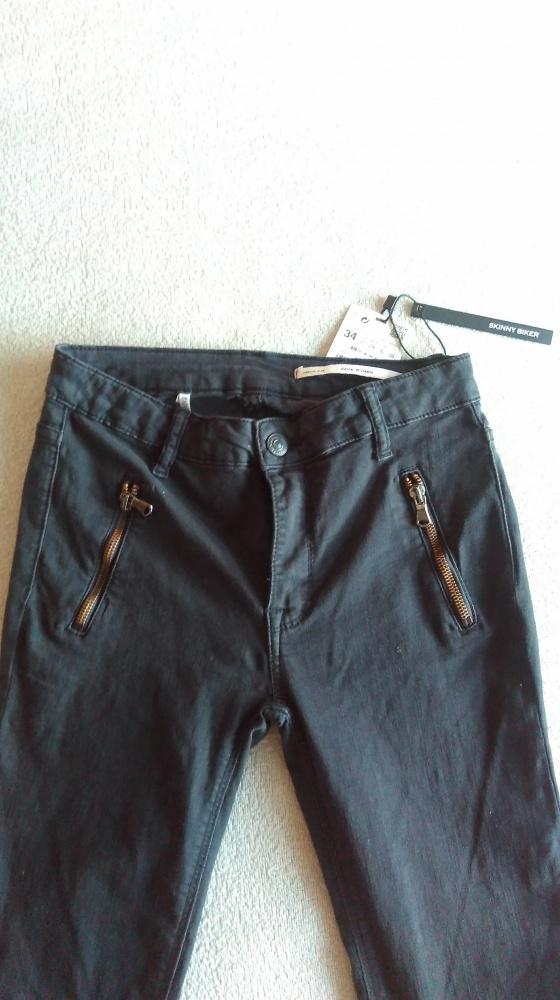 ZARA rurki dżinsy slim fit 34 XS...