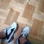 Sneakersy biało czarne buty sportowe 39