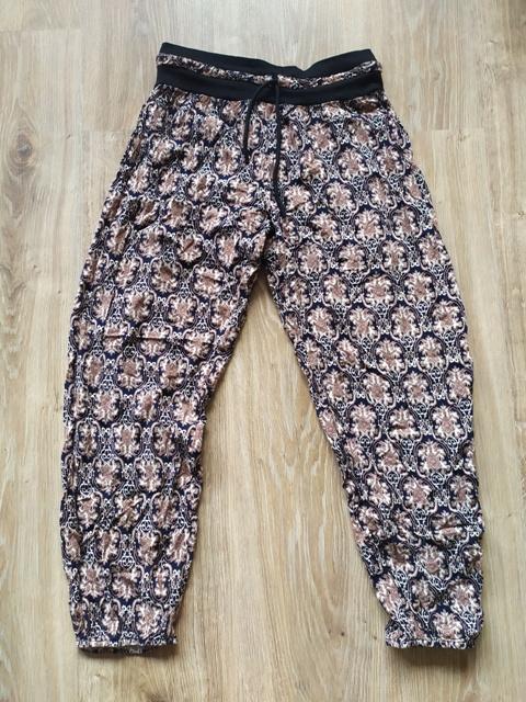 Alladynki haremki dresy letnie spodnie