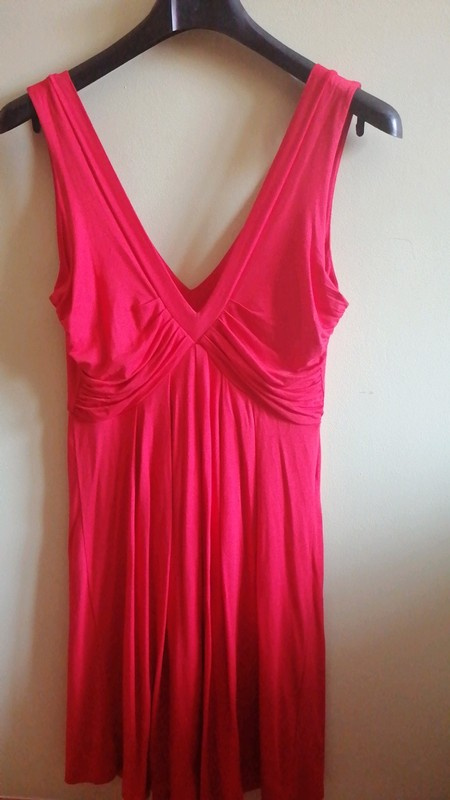 Sukienka Czerwona Letnia Zara Collection M Nowa...