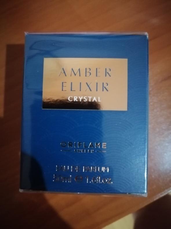 Amber elixir crystal...
