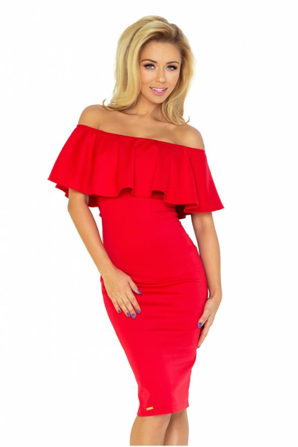 CZERWONA sukienka hiszpanka XS 36 38 40 42 44