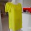 Bluzka Tunika Neonowa Limonkowa Żółta New Look Nowa z Metką M