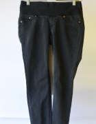 Spodnie Szare Super Skinny XS 34 H&M Mama Postrzępione...