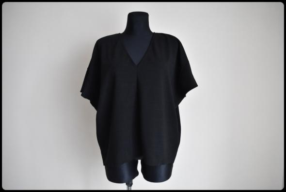 ZARA uniwersalna czarna bluzka luźny krój od S do XL...