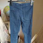 Spodnie rurki H&M Divided jeans ciemny 36 S obcisłe elastyczne