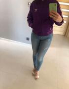 spodnie jeans rurki streadivarius