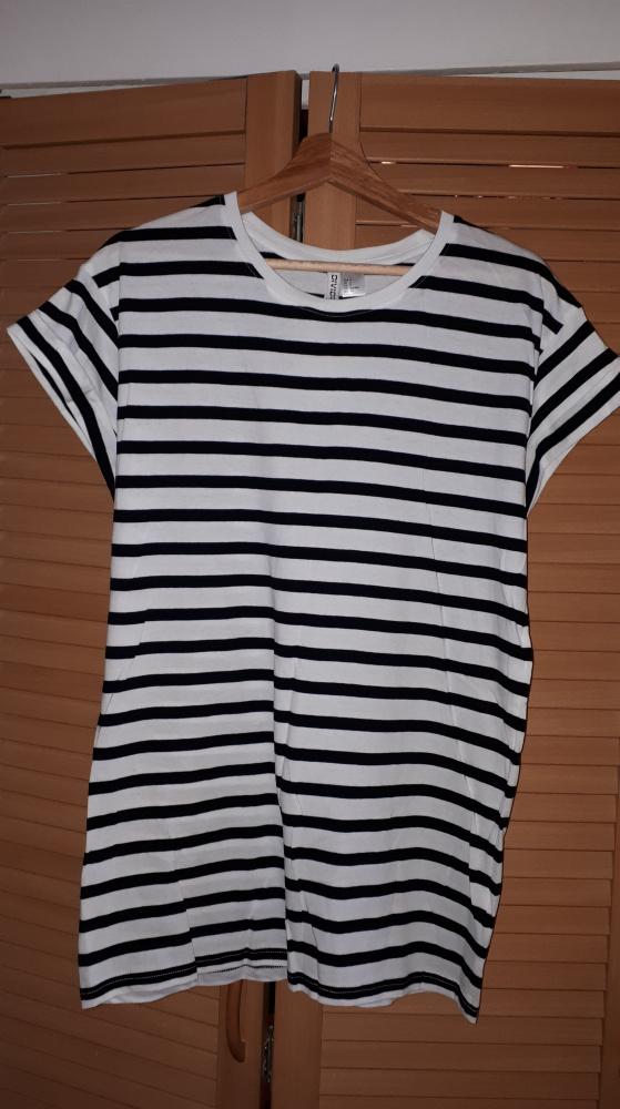 T-shirt Nowy Tshirt w paski H&M