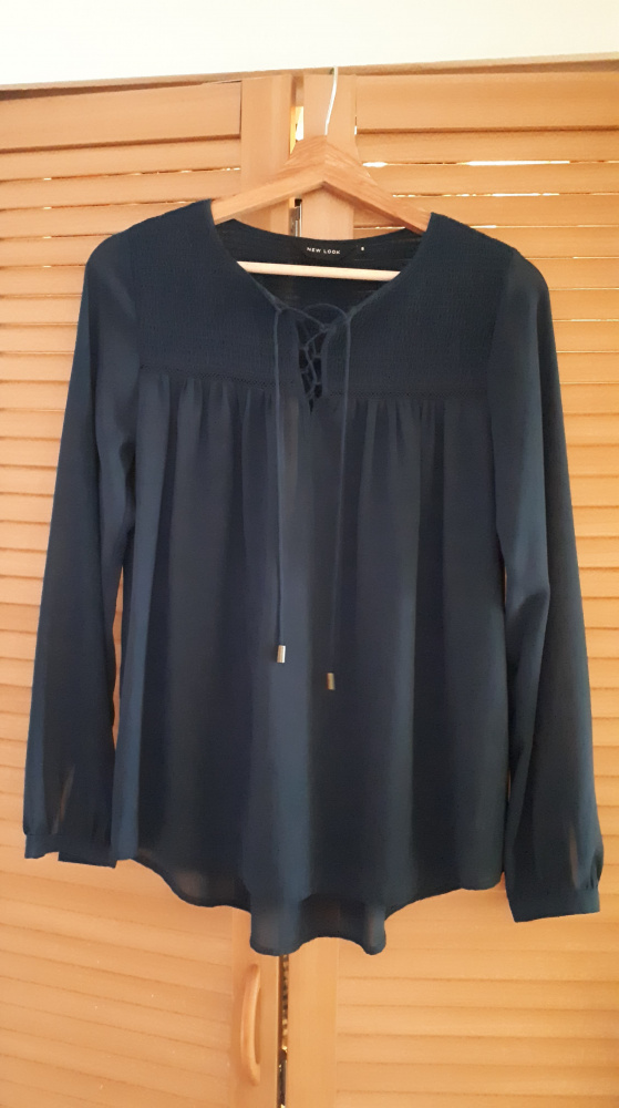 Granatowa koszula New Look