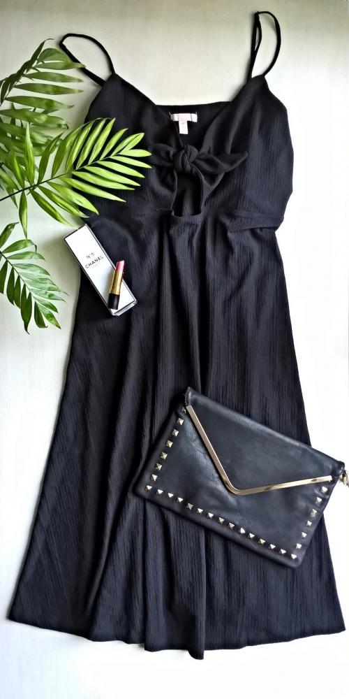 Czarna sukienka basic minimalizm XL XXL