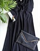 Czarna sukienka basic minimalizm XL XXL...