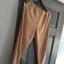 Bezowe nowe spodnie dresowe S XL
