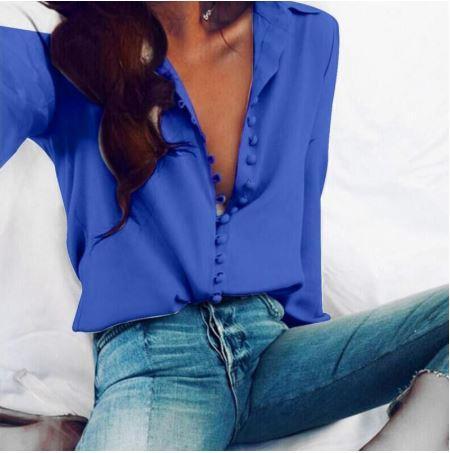 Koszula Niebieska biznesowa