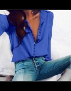 Koszula Niebieska biznesowa...