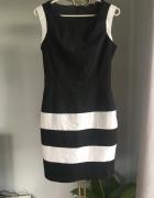 Sukienka czarno biała Orsay