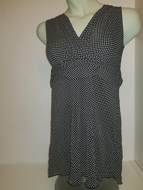 Sukienka Carbone czerń i biel