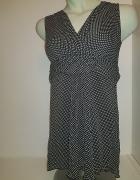 Sukienka Carbone czerń i biel...