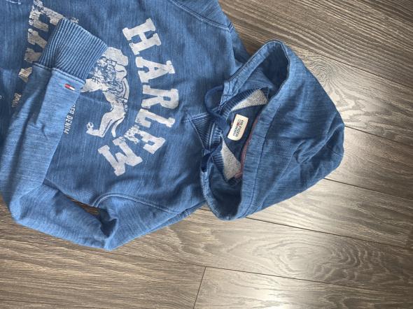 Tommy Hilfiger oryginalna niebieska bluza