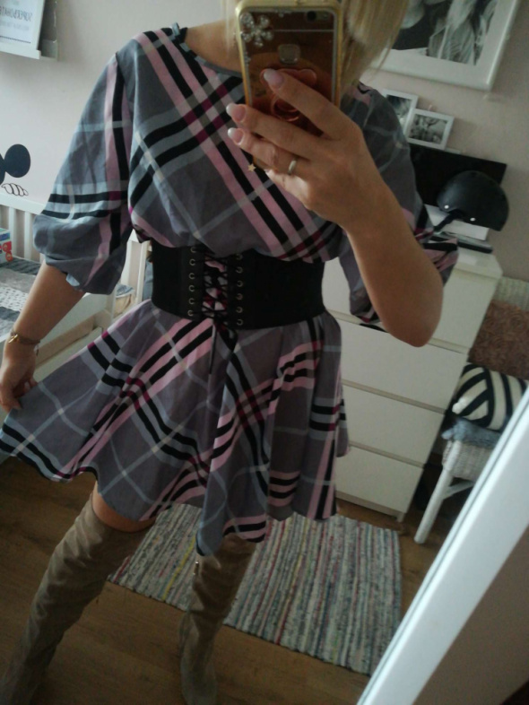 Suknie i sukienki Sukienka kratka rozm S