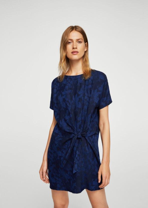 Nowa z metką żakardowa sukienka XSS Mango