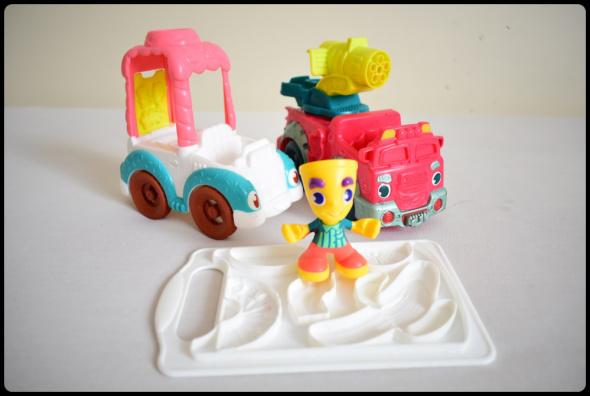 Zabawki Play Doh zabawki do ciastoliny pojazdy