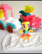 Play Doh zabawki do ciastoliny pojazdy...