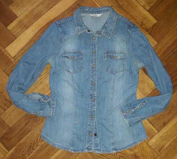 Koszula jeans jeansowa F&F M