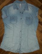 Koszula jeans jeansowa New Yorker XS...