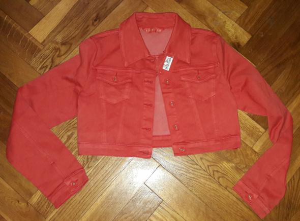 Nowa czerwona Katana bluza jeans R Display XL...